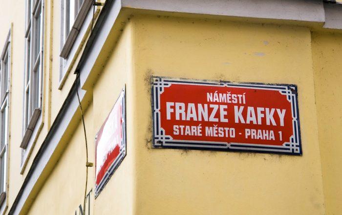franz kafka sign prague