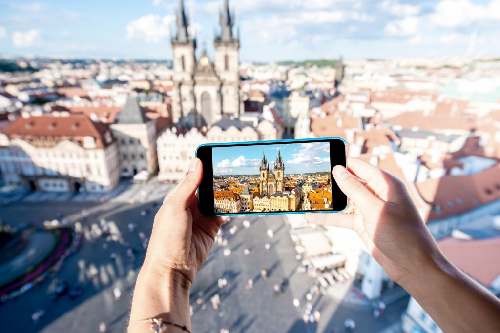 Photographing Prague