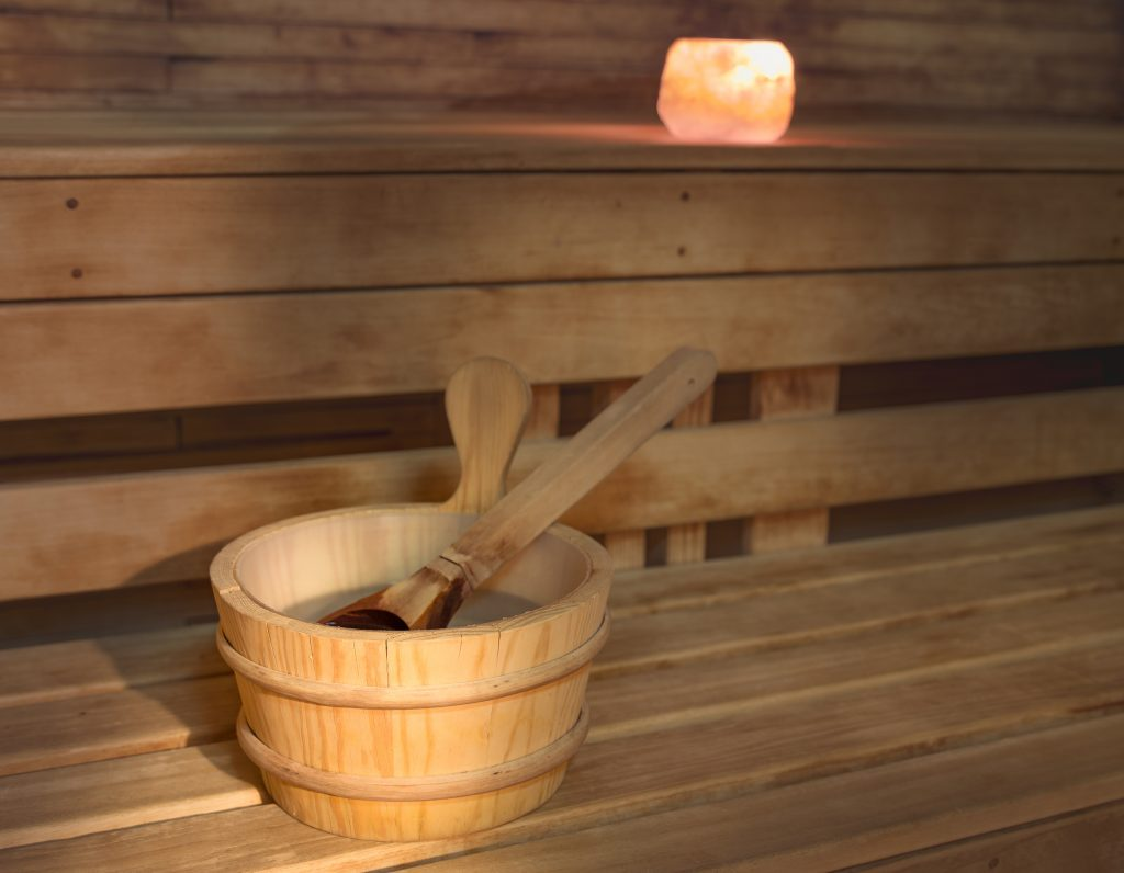 Sauna in Panorama Hotel Prague