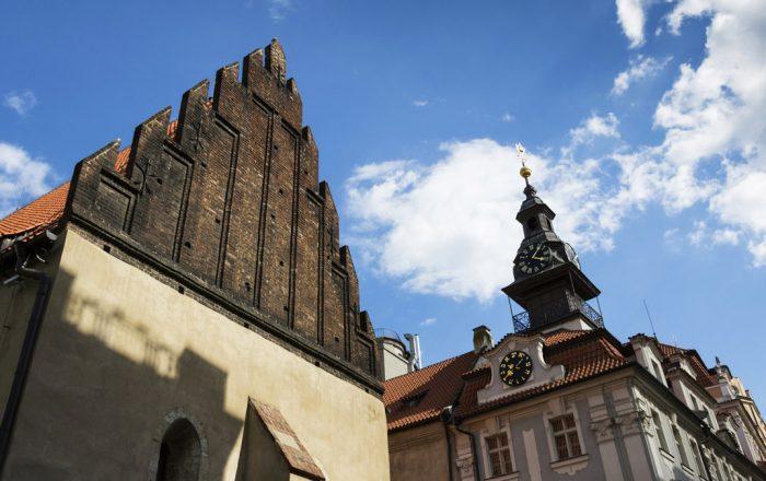 Prague Jewish Quarter | Old New Synagogue © iStock/josefkubes