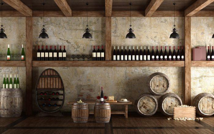 Wine Bars in Prague | Wine Bars in Prague cellar bar © iStock/archideaphoto
