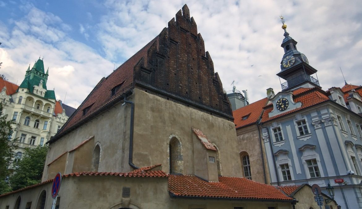 The-Old-New Synagogue-prague-myth-legend